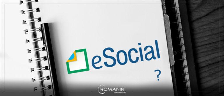 o eSocial não vai acabar