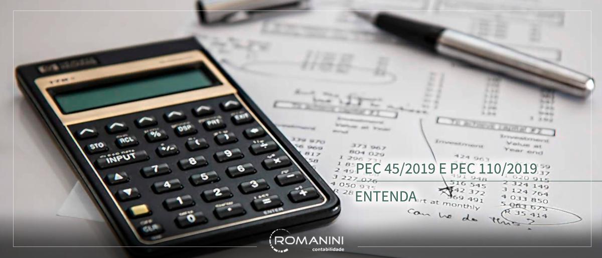 Entenda o conteúdo da PEC 45/2019 e 110/2019 da reforma tributária